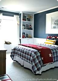 decorating ideas for boys bedrooms bedroom boys boys bedroom with blue and red football scheme bedroom