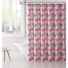 Coral And Grey Shower Curtain Pink Grey Shower Curtain Vcny Home Stockholm Shower Curtain In
