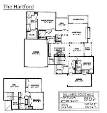 One Level Home Floor Plans 2 Story Guest House Floor Plans Homepeek