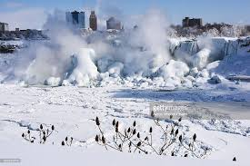 photos images extreme cold freezes parts niagara falls