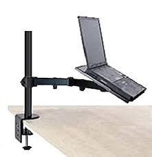 amazon com ezm notebook laptop arm extenstion mount desktop