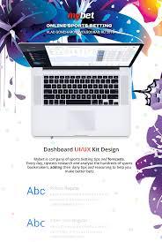 mybetting u2013 dashboard ui ux kit online sports betting on behance