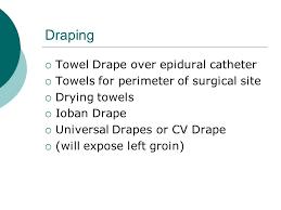 Drape Towel Open Chest Surgery Ppt Video Online Download