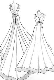 wedding dress terms sketches of wedding dresses gowns weddings