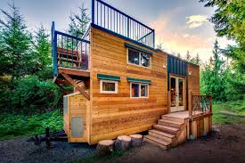 Tiny Home Blueprints by 204 Sq Ft Mountaineer Tiny Home With Rooftop Deck