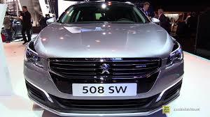 peugeot 508 sw 2015 peugeot 508 sw business pack diesel exterior interior