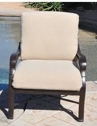 coral coast classic hinged outdoor deep seating cushion hayneedle