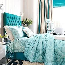 Green And Teal Bedroom Textural Teal Bedroom Decorating With Teal