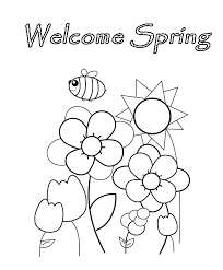 nature spring coloring pages butterfly spring coloring pages natures