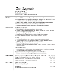resume examples templates easy real estate agent resume example