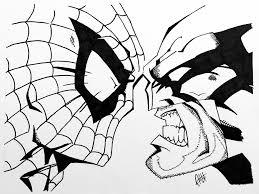 spider man vs wolverine by camhenreykicks on deviantart