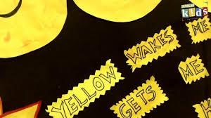 yellow day celebration scholar school