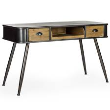 industrial console table with drawers camden industrial console table desk console table