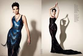 hanaa ben abdesslem fashion model profile on new york magazine elle arab world march 2014 p108 p109 fab fashion fix