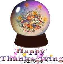 happy thanksgiving globe animation gif animations