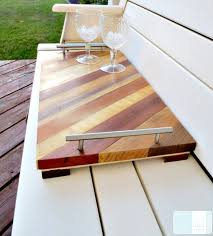 diy tray diy serving tray great ideas for hostess gifts sawdust girl