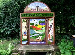 the inaugural 2012 croxton well dressing croxton well dressing
