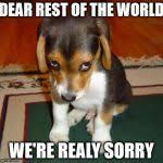 We Re Sorry Meme - sorry meme generator imgflip