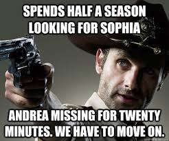 Walking Dead Memes Season 2 - image andrea walking dead meme jpg walking dead wiki fandom