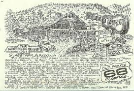 Old Route 66 Map by Usa U2013 Route 66 Remembering Letters And Postcards