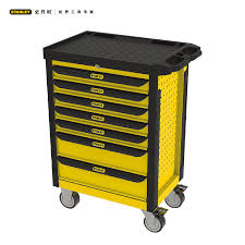 stanley tool chest cabinet 93 712 23 stanley 7 multifunction drawer tool cart tool cabinet
