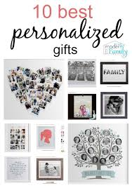personlized gifts 10 best personalized gift ideas yourmodernfamily