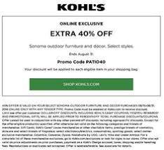 kohls kohls30 kohlscoupons receive kohls 30 coupon code foy