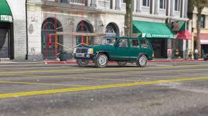 modded white jeep jeep cherokee xj 1984 gta5 mods com