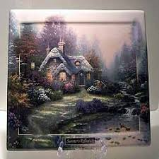 everett s cottage collector plate by kinkade seasons