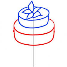 wedding cake drawing how to draw how to draw a wedding cake hellokids