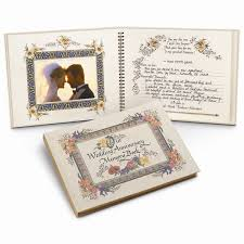 wedding memory book nittany quill wedding anniversary memory journal wholesale listing