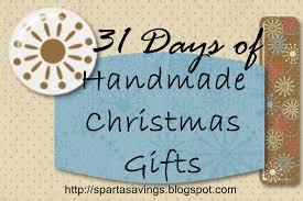 sparta savings 31 days of handmade christmas gifts day 10