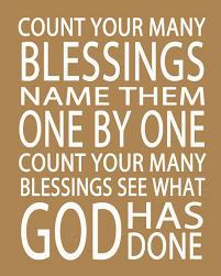 count your blessings hymn lyrics digital printable word