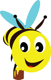 clipart of a bee