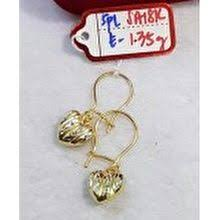 gold earrings philippines gold earrings the best prices online in philippines iprice