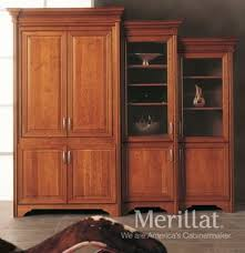 tall tv cabinet with doors merillat masterpiece tall entertainment cabinet with pocket doors