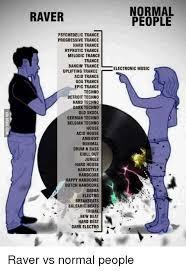 Psychedelic Meme - normal raver people psychedelic trance progressive trance hard