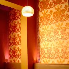 Hand Printed Wallpaper by Traditional Wallpaper Patterned Fire Retardant Hand Printed