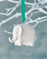 jonathan adler white elephant ornament