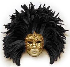 feather mask italian masquerade volto piume macrame venetian mask masks