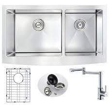 vigo farmhouse u0026 apron kitchen sinks kitchen sinks the home