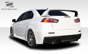 mitsubishi evo spoiler welcome to extreme dimensions inventory item 2008 2017