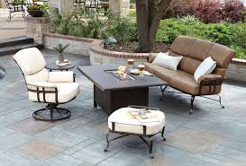 Woodard Patio Tables by Furniture Wrought Iron High Top Patio Furniture And Woodard Patio