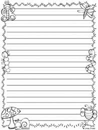 printable animal lined paper a cute writing paper to help your students publish their work free