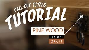 call out titles after effects tutorial free template youtube