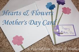 celebrate mothers hearts u0026 flowers mother u0027s day card tutorial