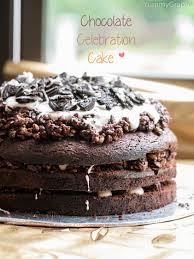 celebration cakes chocolate celebration cake yummygraphy