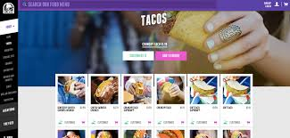 taco bell rolls out new website for online ordering without the