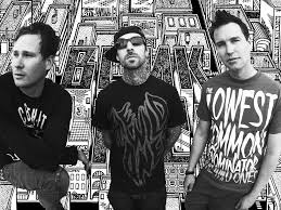 Blink 182 Halloween Shirt by Blink Desktop Background B Rock Band Wallpapers 1024 640 Blink 182