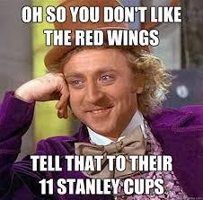 Red Wings Meme - red wings memes quickmeme